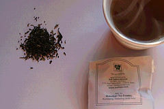 A cup of Darjeeling tea- the champagne of teas