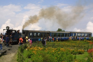 The famous 'Toy Train' of Darjeeling photo credit Joe Gratz
